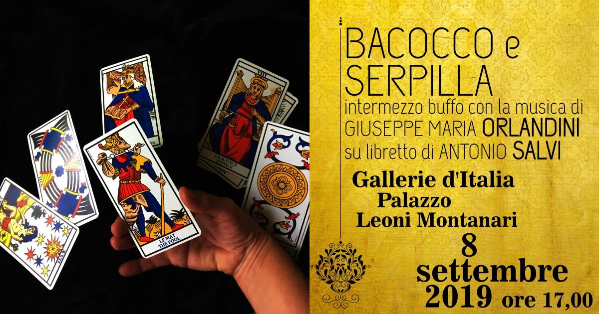 Bacocco e Serpilla di G.M. Orlandini e libretto di A. Salvi